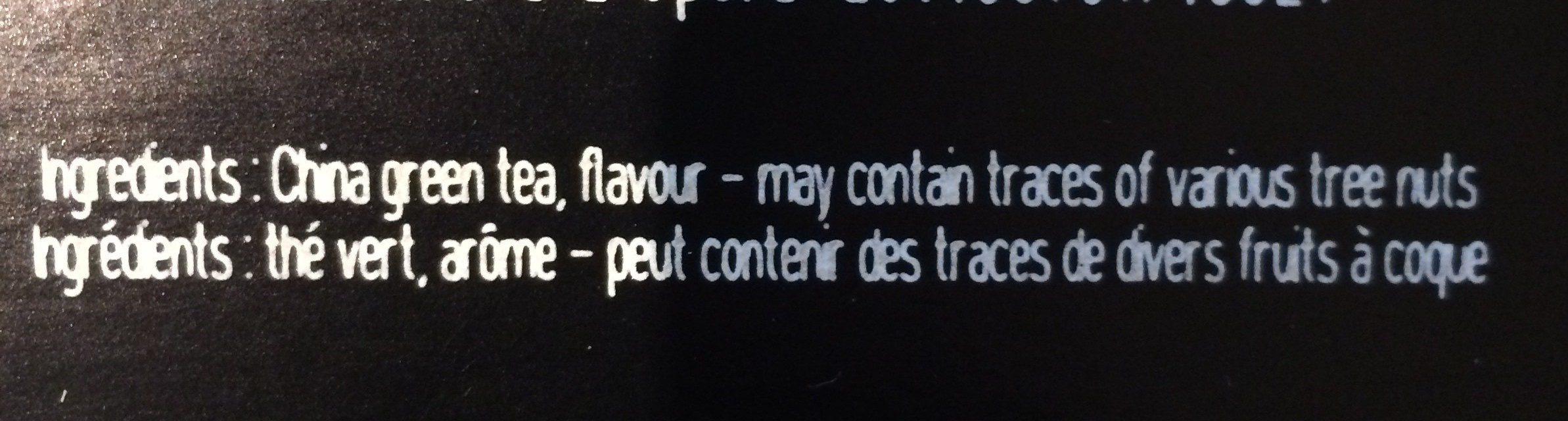 Thé à l'Opéra - Ingrédients - fr