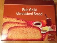 Pain grillé - Produit
