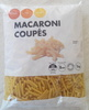Macaroni coupés - Product