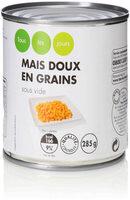 Mais doux en grains sous vide - Product