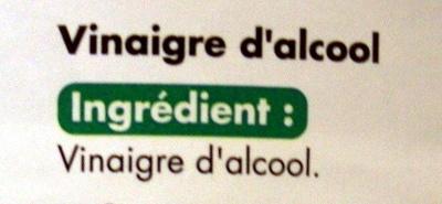 Vinaigre cristal (8% d'acidité) 1,5 litre - Ingrediënten