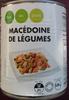 Macedoine de légumes - Produit