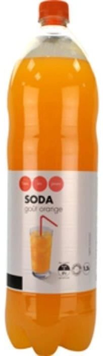 Soda Pulpé Orange - Product