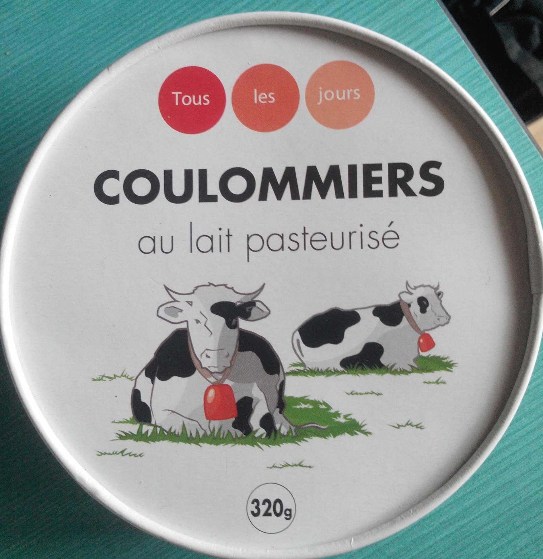 Coulommiers au lait pasteurisé - Produit - fr