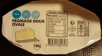 Fromage doux ovale - Product - fr