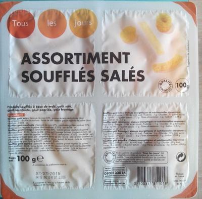 Assortiment soufflés salés - Produit - fr