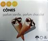Cônes parfum vanille, parfum chocolat - Product