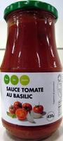 Sauce tomate au basilic - Product