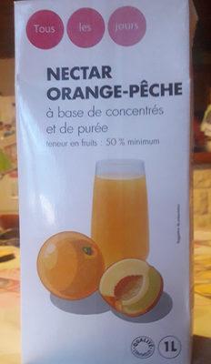 Nectar orange-pêche à base de concentrés et de purée - Product - fr