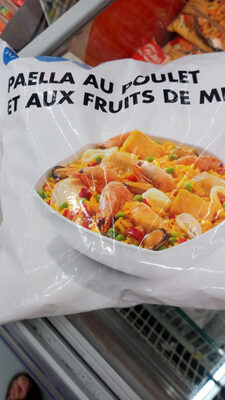 Paëlla au poulet et aux fruits de mer - Product - fr