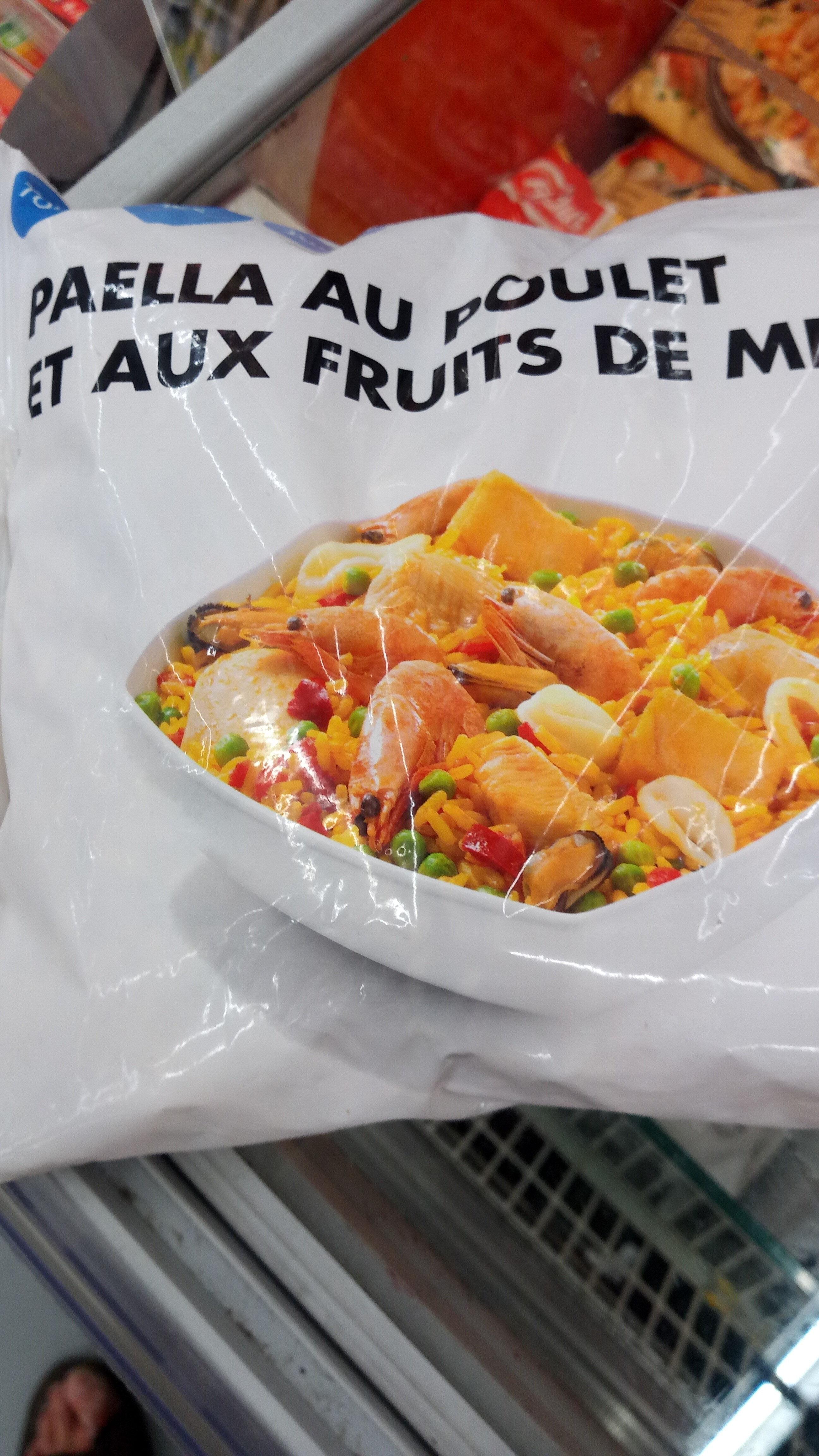Paëlla au poulet et aux fruits de mer - Produit - fr