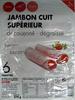 Jambon cuit supérieur découenné, dégraissé - Product