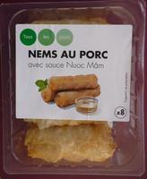 NEMS AU PORC avec sauce nuoc mam - Produit
