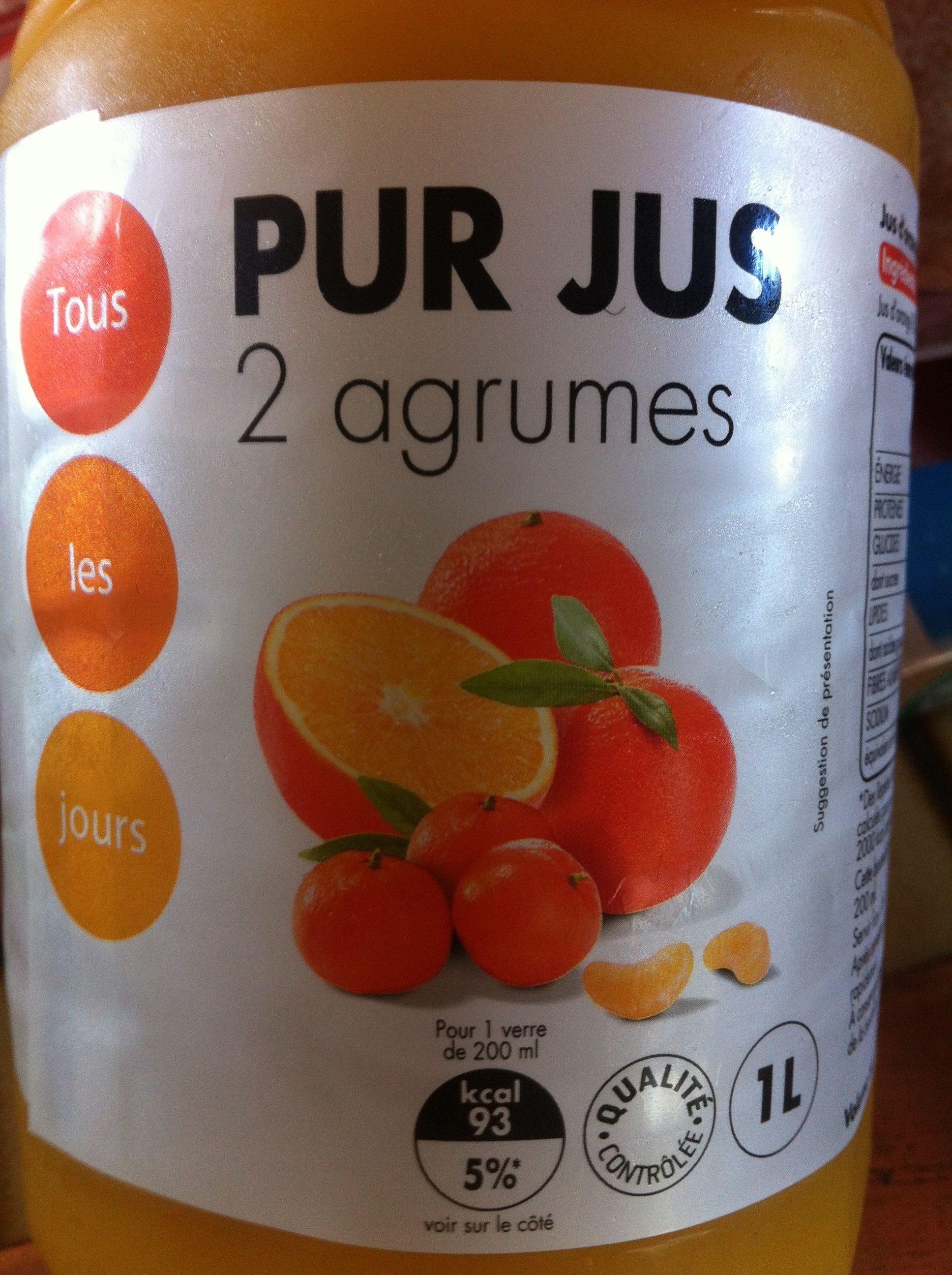 Pur Jus 2 agrumes - Produit - fr