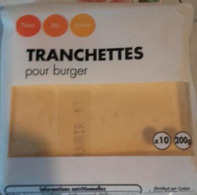 Tranchettes pour burger x10 - Produit - fr