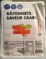 Bâtonnets saveur crabe - Produit - fr