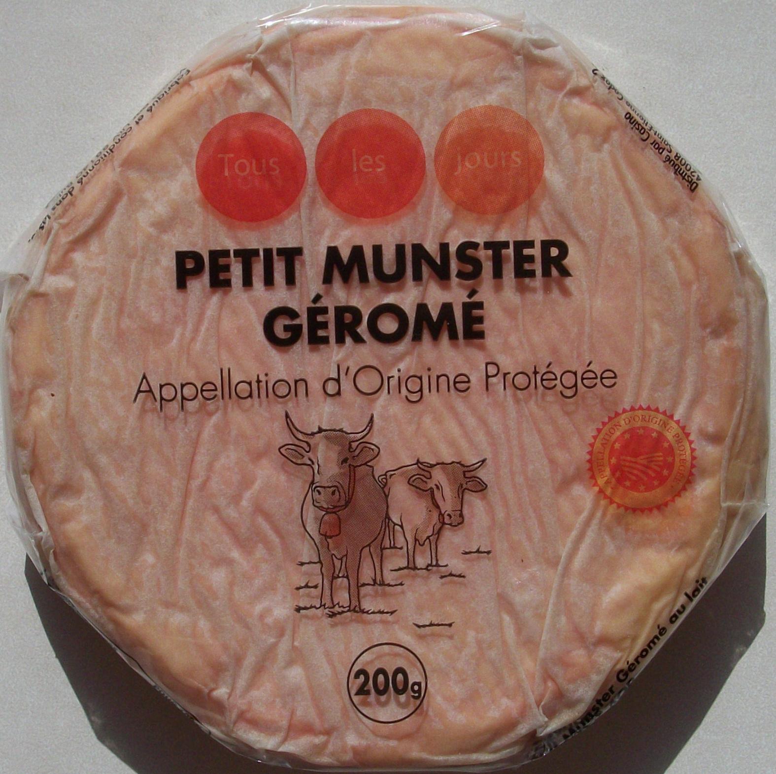Munster-Géromé Appellation d'Origine Protégée - Produit - fr
