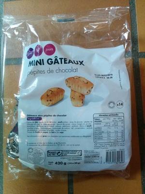 Mini gâteaux aux pépites de chocolat - Product - fr
