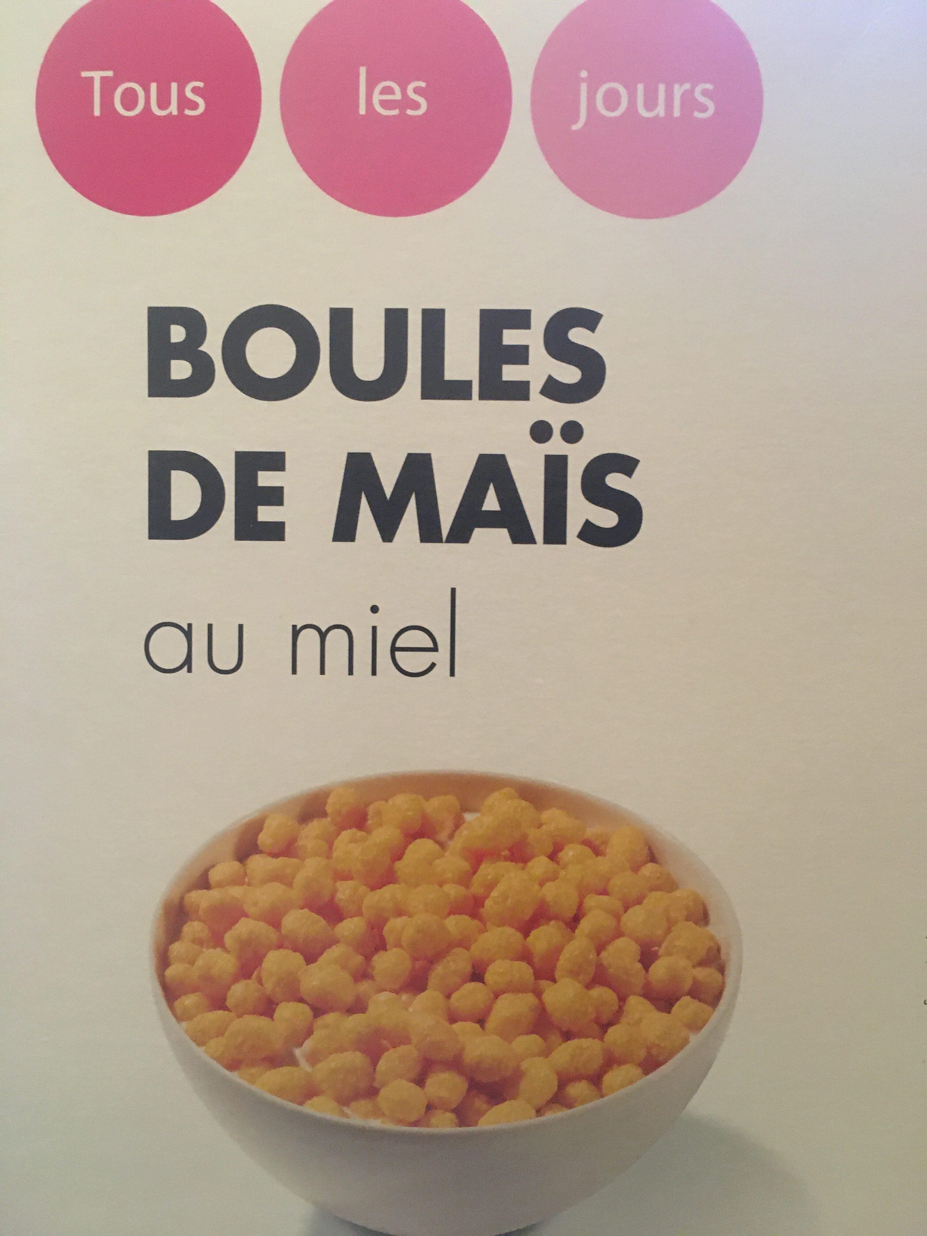 Boules de maïs au miel - Product - fr