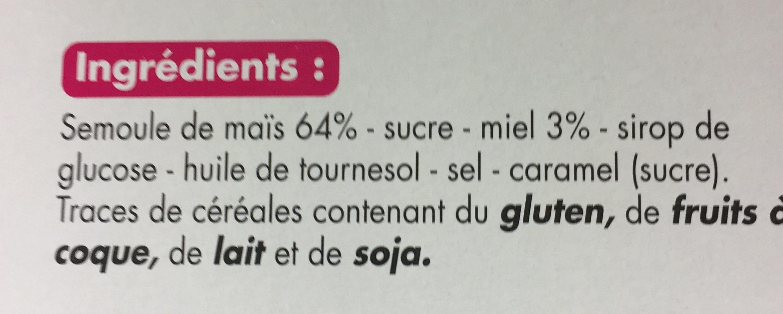 Boules de maïs au miel - Ingrediënten - fr