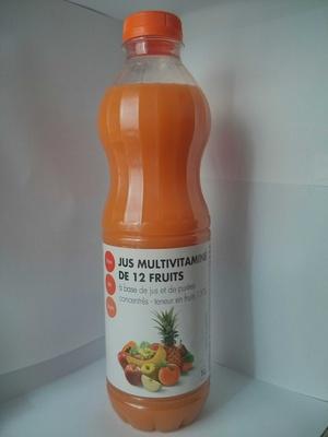 Jus multivitaminé de 12 fruits - Product - fr