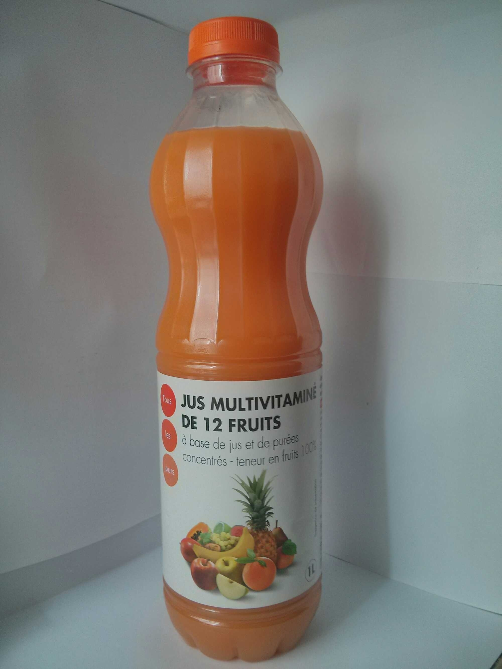 Jus multivitaminé de 12 fruits - Product