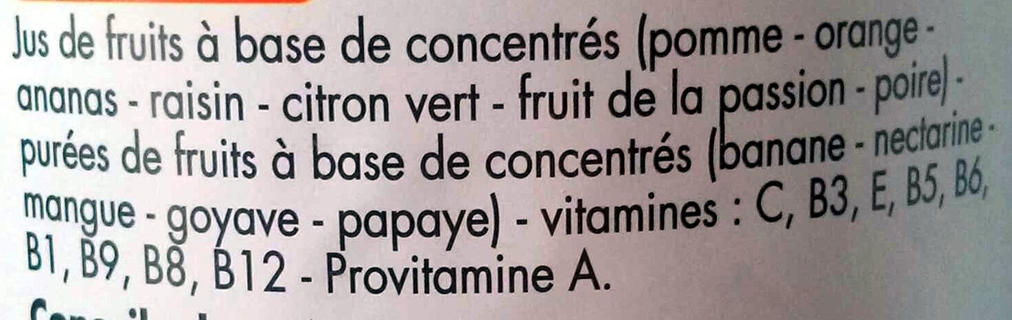 Jus multivitaminé de 12 fruits - Ingrediënten