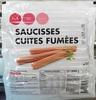 10 saucisses cuites fumées - Produit