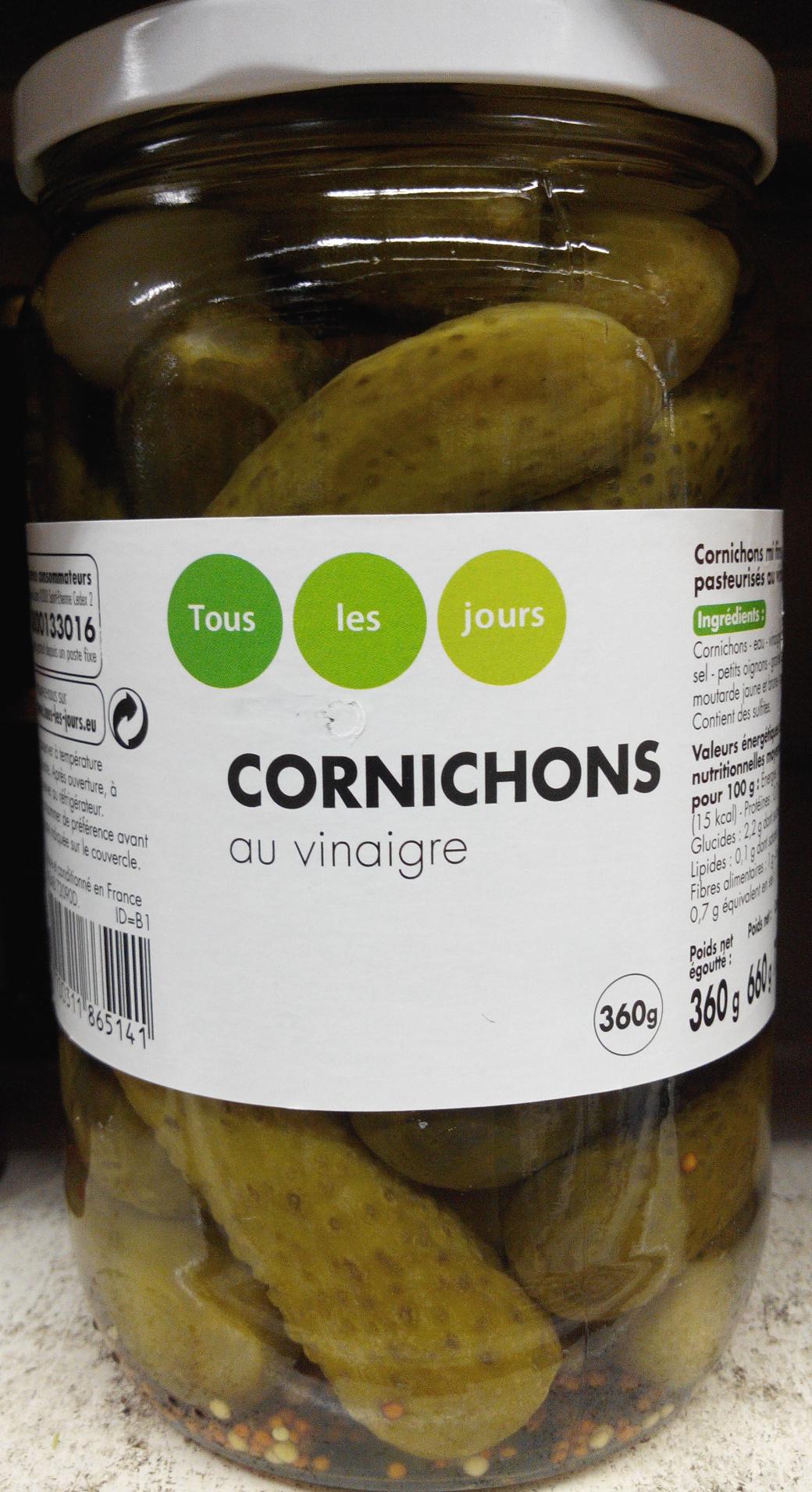 Cornichons au vinaigre - Product