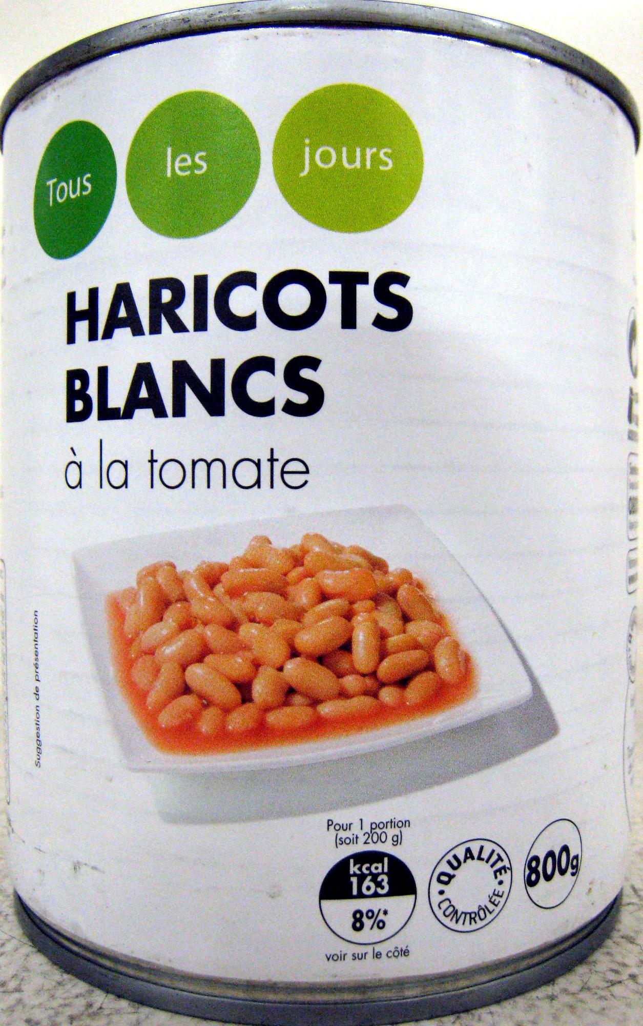 Haricots blancs à la tomate - Product