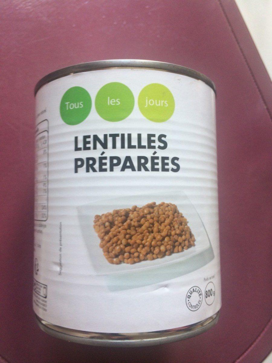 Lentilles Préparées - Product