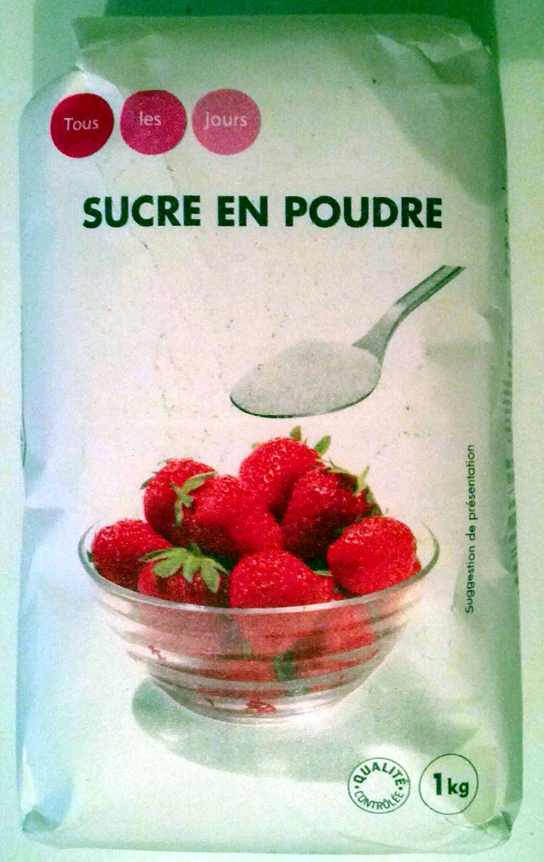 Sucre en poudre 1kg Tous les jours - Product - fr