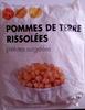 Pommes de terre rissolées - Produit