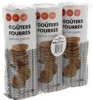 Goûters ronds parfum cacao - Product