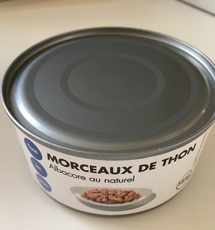 Morceaux de thon Albacore au naturel - Produit - fr