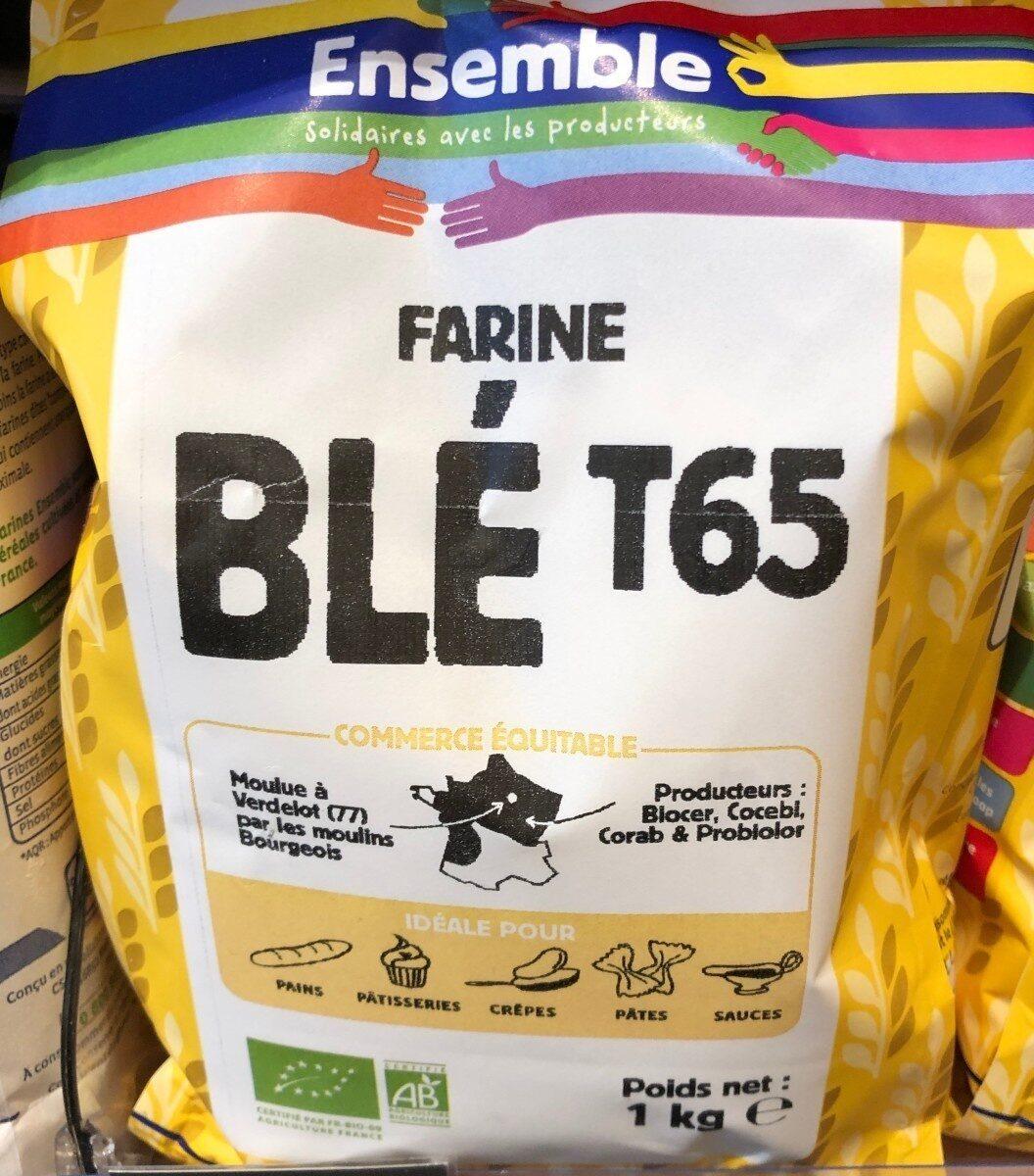 Farine de blé T 65 - Product - fr