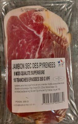 Jambon sec des Pyrénées - Prodotto