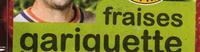 Fraises Gariguette - Ingrédients - fr