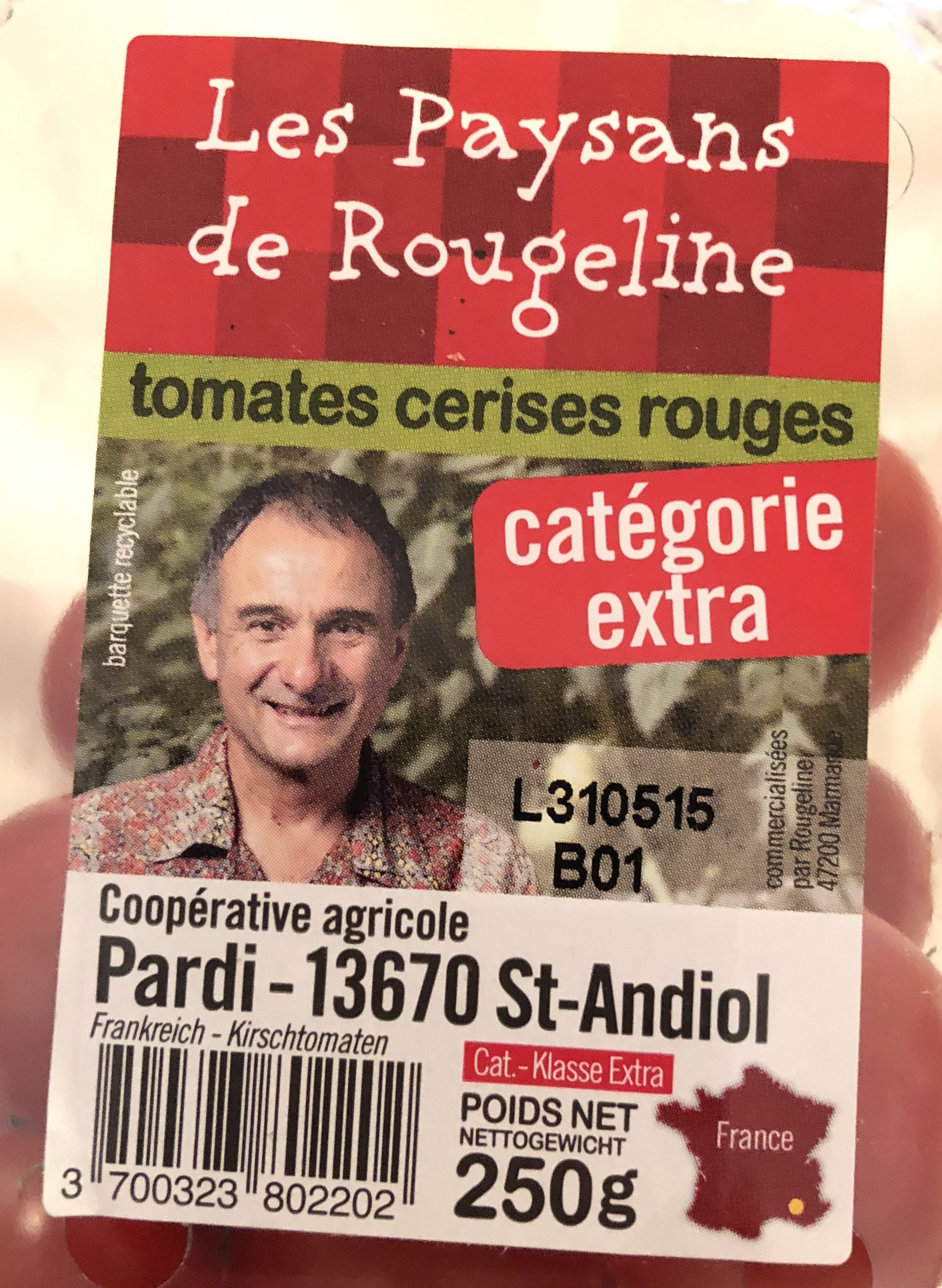 Tomate Cerise - Ingrédients - fr