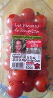 Tomates cerises rouges - Produit - fr