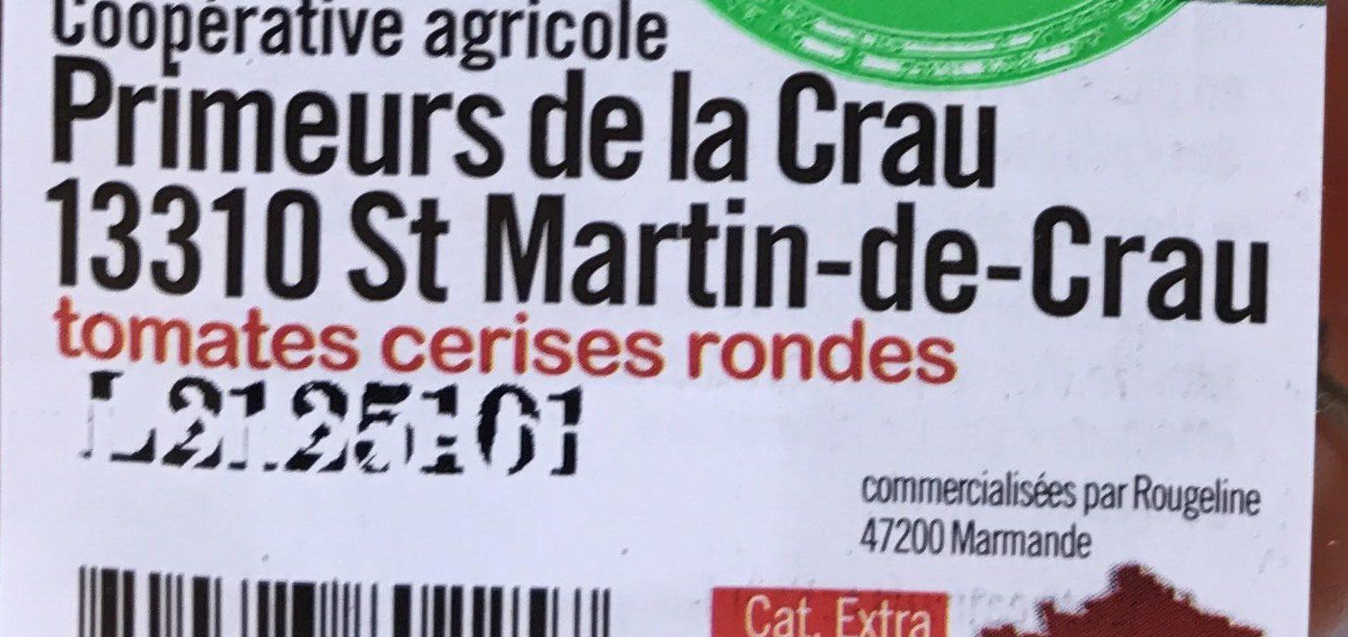Tomates cerises rondes - Ingrédients
