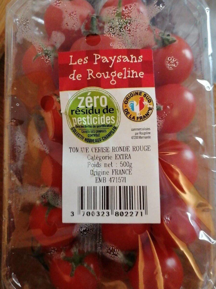 Tomate cerise ronde rouge - Produit - fr