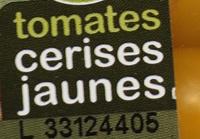 Tomates cerises jaunes - Ingrédients - fr
