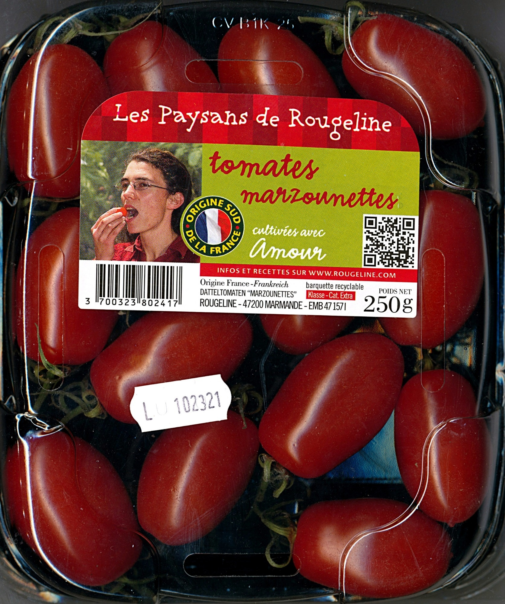 Tomates Marzounettes - Product - fr