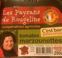 Tomates Marzounettes - Voedigswaarden