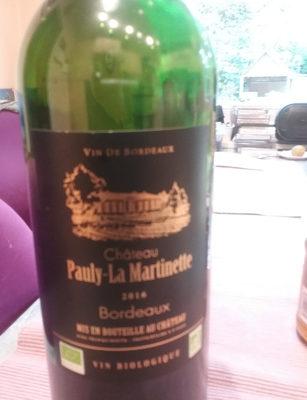 Vin de Bordeaux 2016 - Product - fr