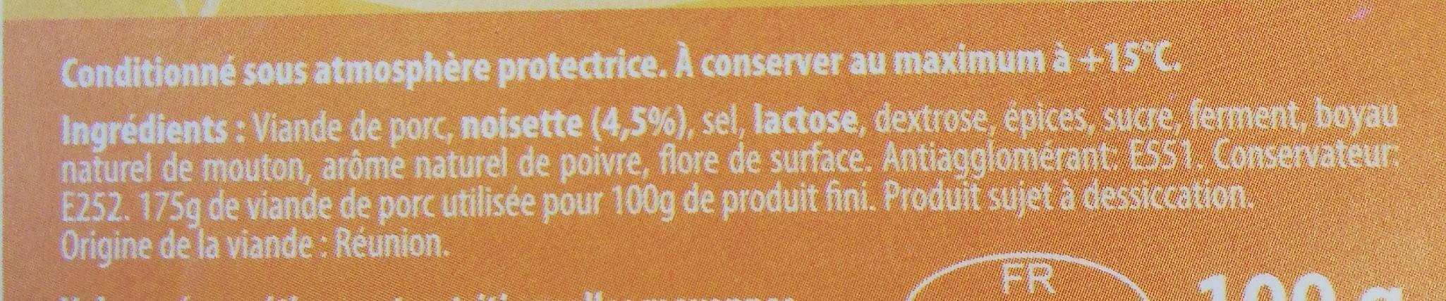 Aperi Crock Noisette - Ingrediënten - fr