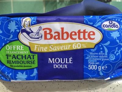 Babette Fine Saveur 60% Moulé Doux - Produit