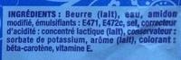 Babette Fine Saveur 60% Moulé Doux - Ingrédients