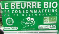 Beurre Bio doux - Product - fr
